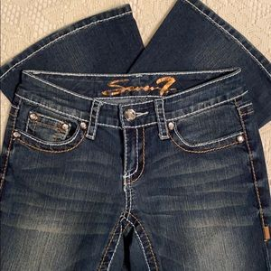 Seven7 Double Stitched Jeans